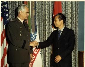 Bui Diem and General William Westmoreland