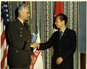 Bui Diem and General William Westmoreland