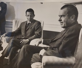 Bui Diem with President Richard Nixon