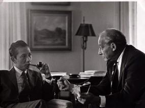 Bui Diem with Walt Rostow