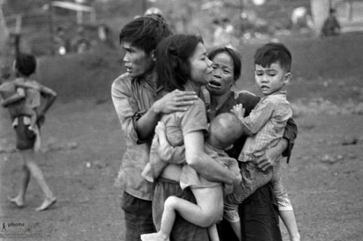 South Vietnamese civilians from Đồng Xoài, AP Photo/Horst Faas